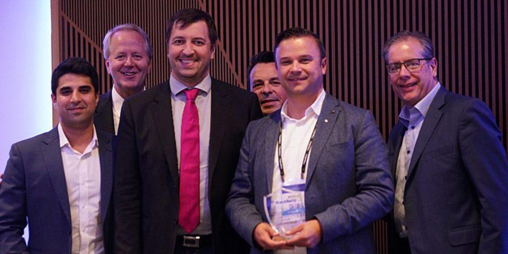 agilimo 2018, Blackberry Disruptor Award