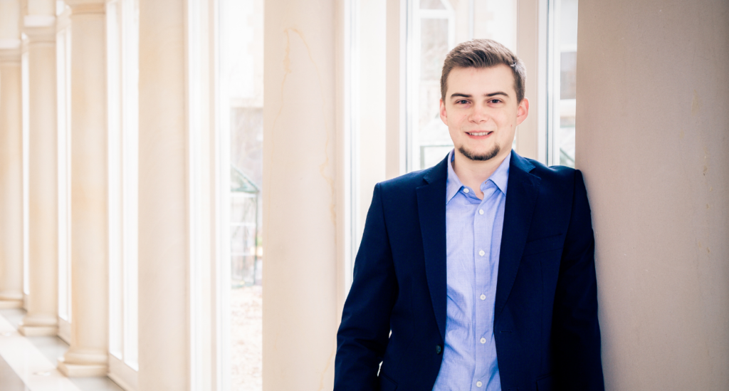 Maximilian Brandt, neu im Enterprise Mobility Team bei agilimo
