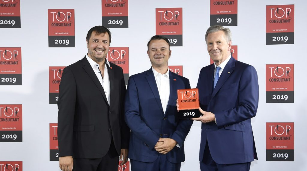 agilimo Consulting GmbH als Top Consultant 2019 ausgezeichnet