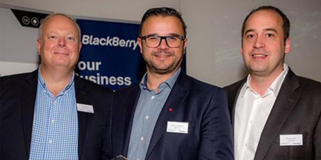 agilimo mit BlackBerry Gold Award ausgezeichnet