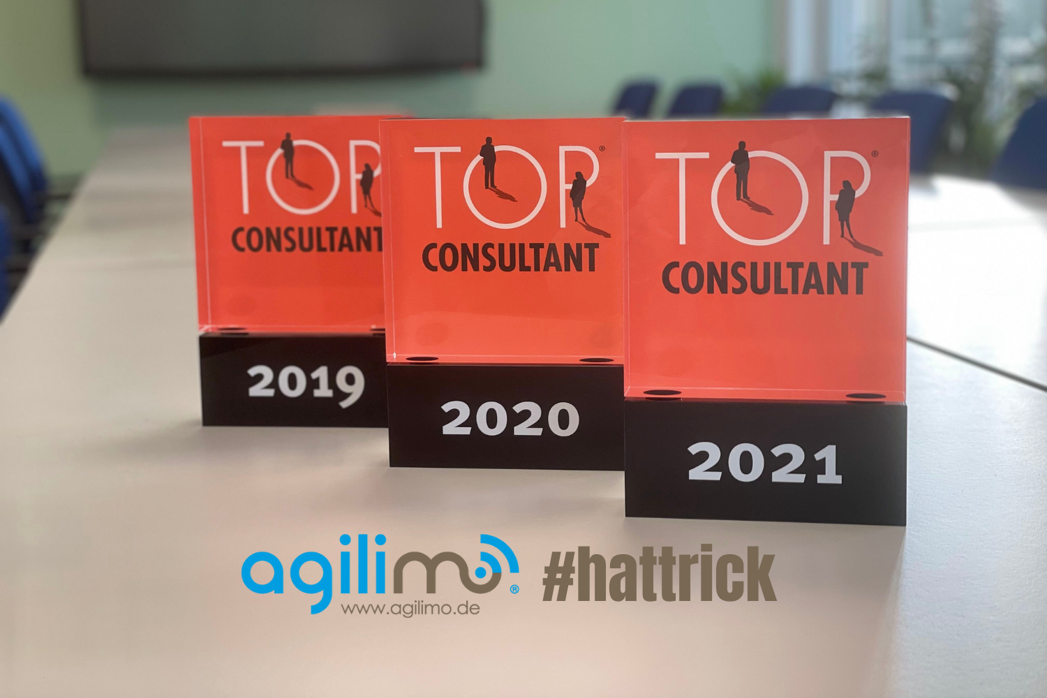Top Consultant 2021 - agilimo Consulting GmbH